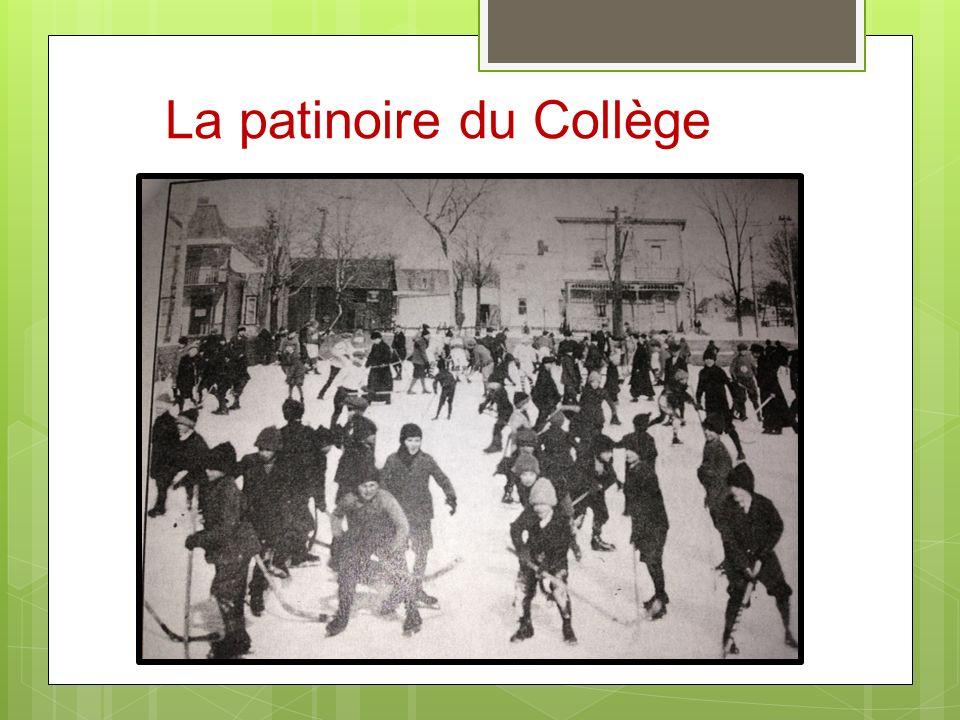 La patinoire du Collège