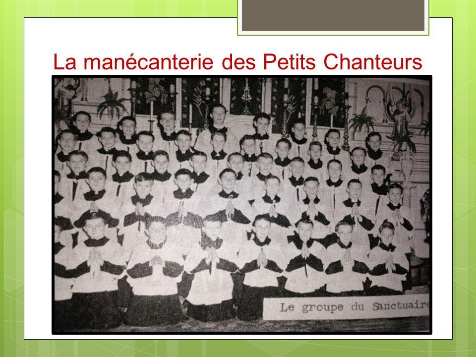 La manécanterie des Petits Chanteurs