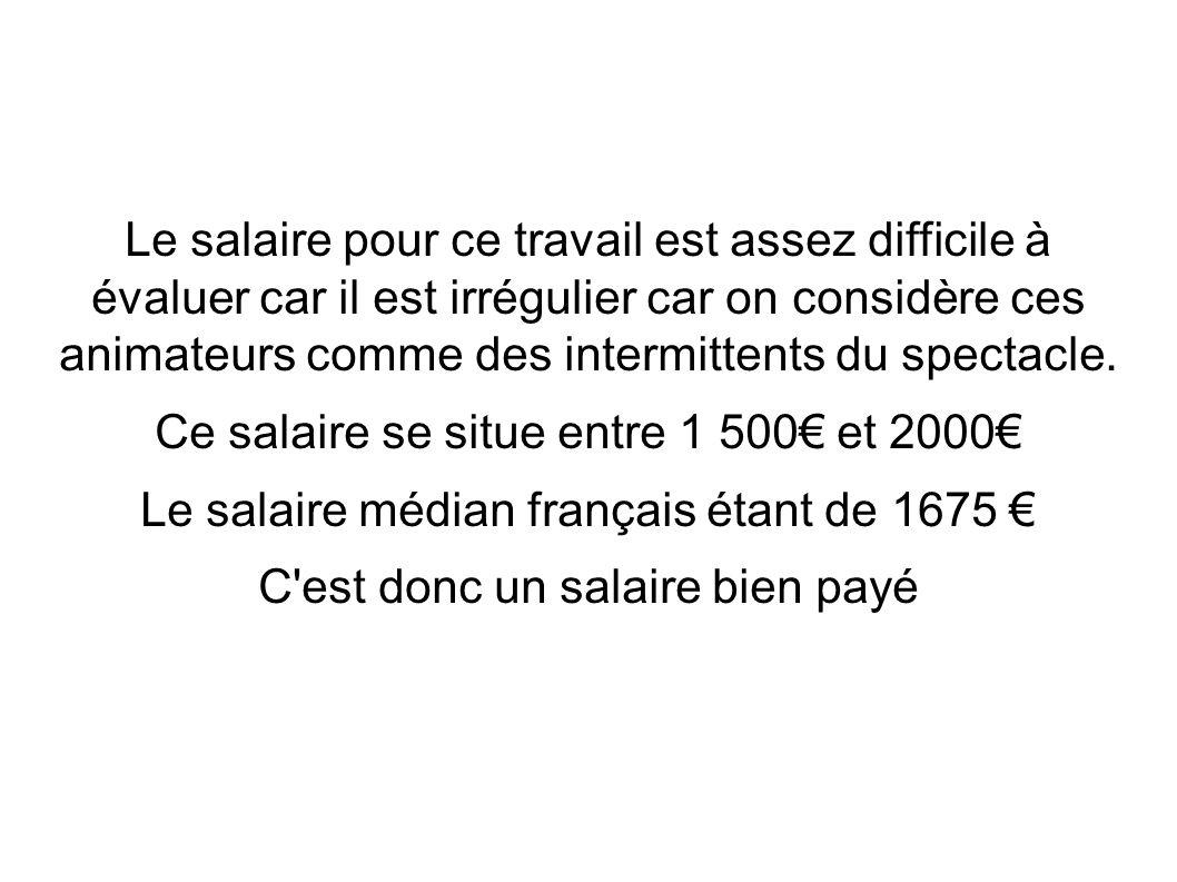 Ce salaire se situe entre 1 500€ et 2000€