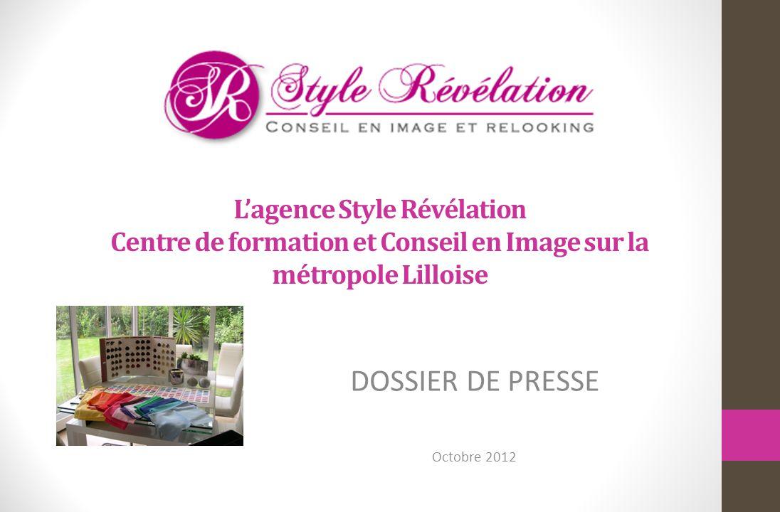 DOSSIER DE PRESSE Octobre 2012