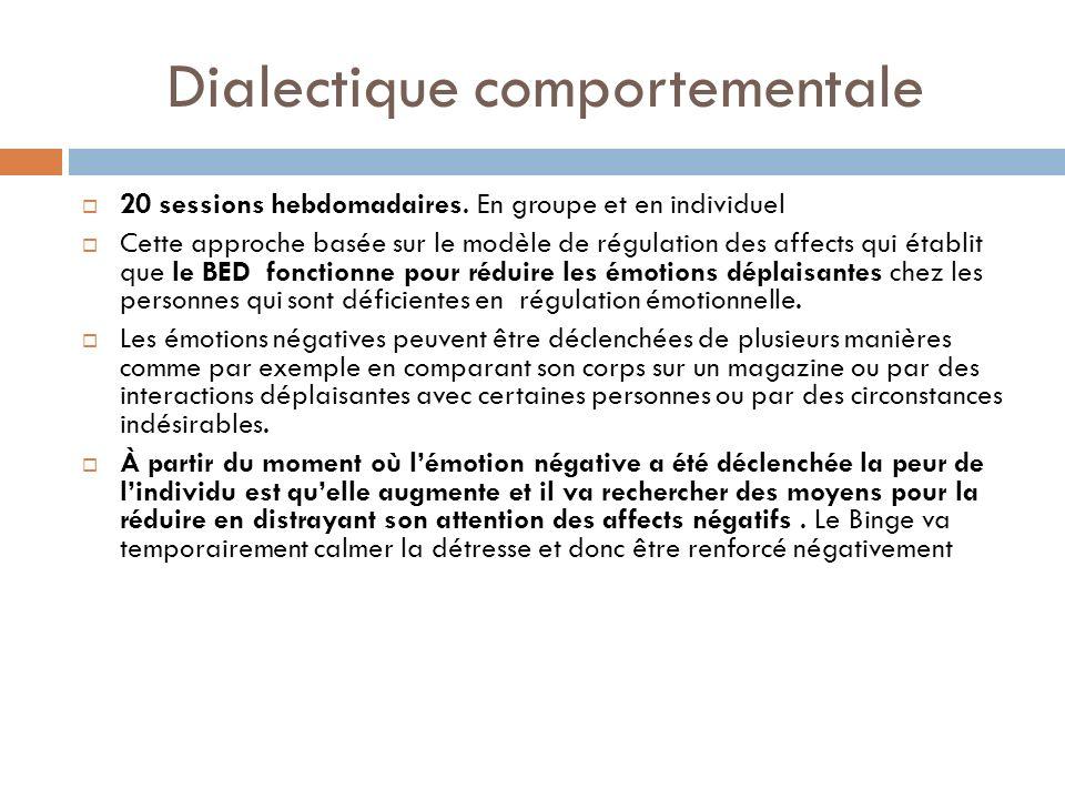 Dialectique comportementale