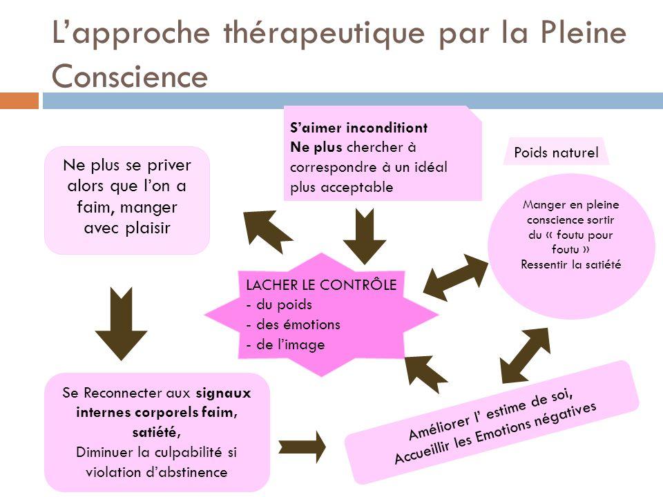 L'approche thérapeutique par la Pleine Conscience