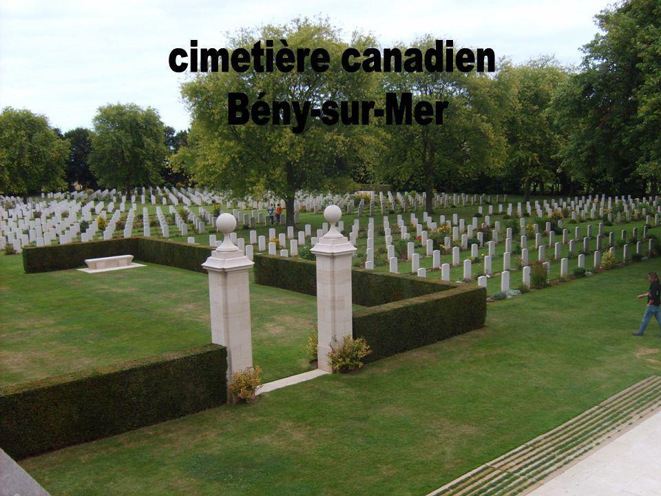cimetière canadien Bény-sur-Mer