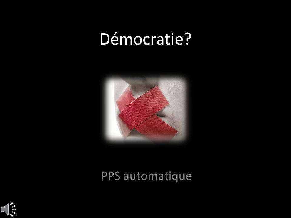 Démocratie PPS automatique