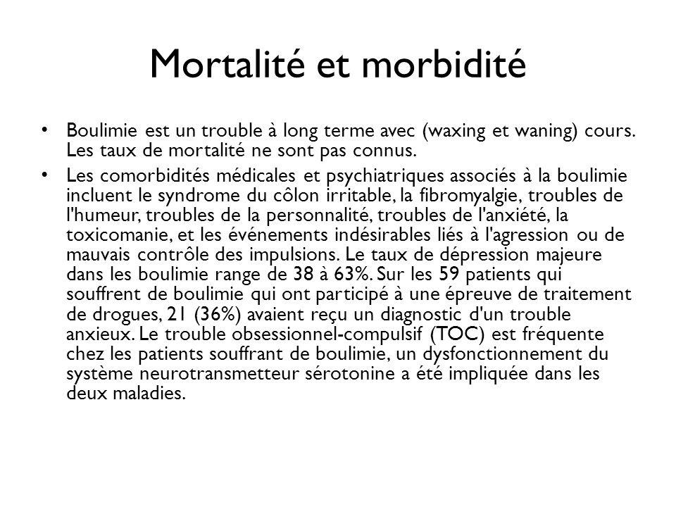 Mortalité et morbidité