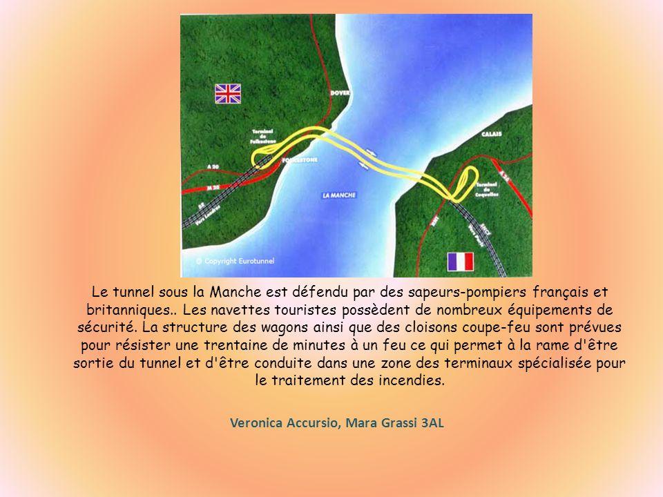 Le tunnel sous la Manche est défendu par des sapeurs-pompiers français et britanniques..