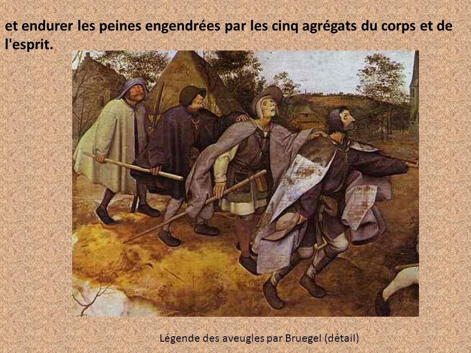 Légende des aveugles par Bruegel (détail)