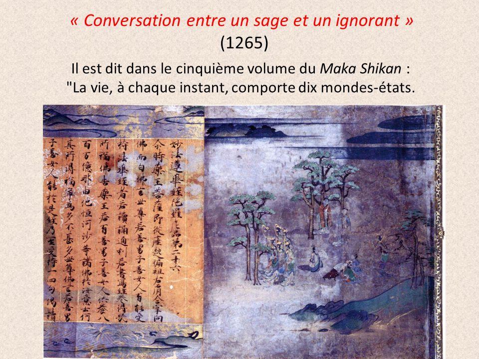 « Conversation entre un sage et un ignorant » (1265)