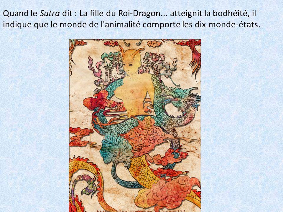 Quand le Sutra dit : La fille du Roi-Dragon
