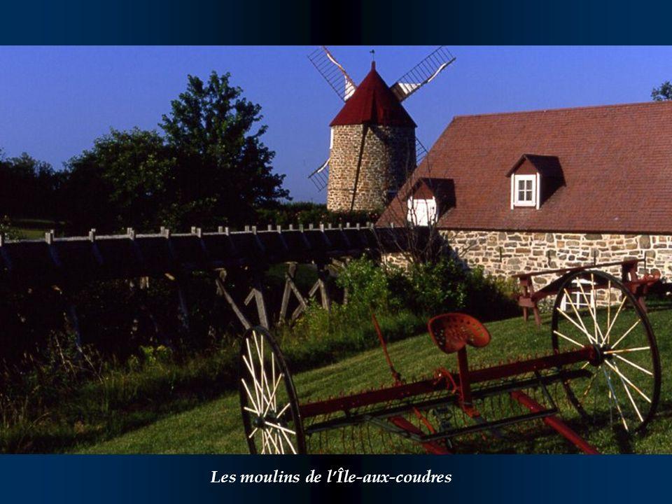 Les moulins de l'Île-aux-coudres