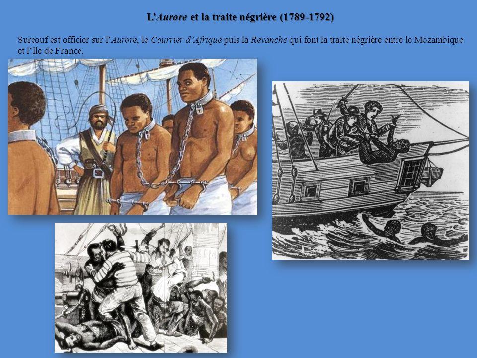 L'Aurore et la traite négrière (1789-1792)