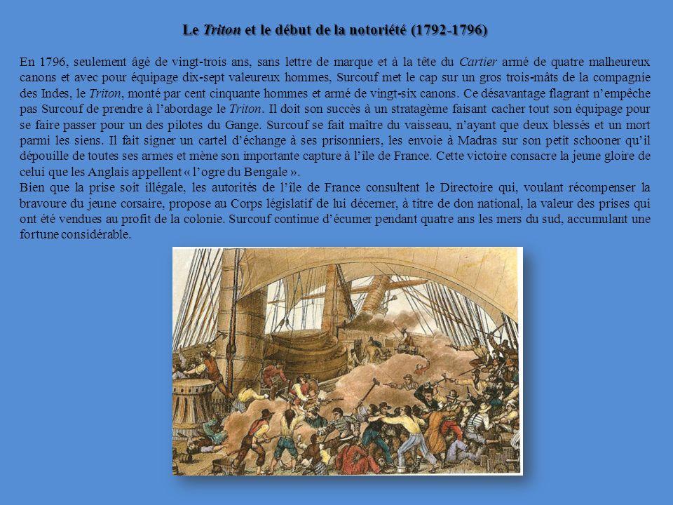 Le Triton et le début de la notoriété (1792-1796)