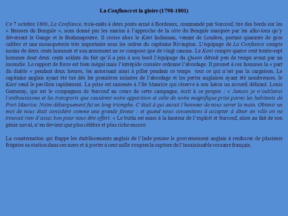La Confiance et la gloire (1798-1801)