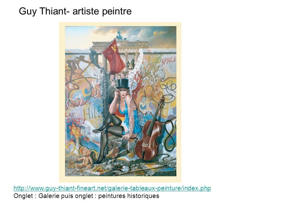 Guy Thiant- artiste peintre
