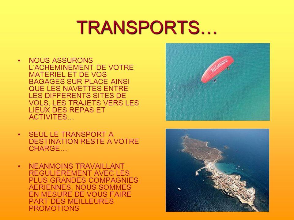 TRANSPORTS…
