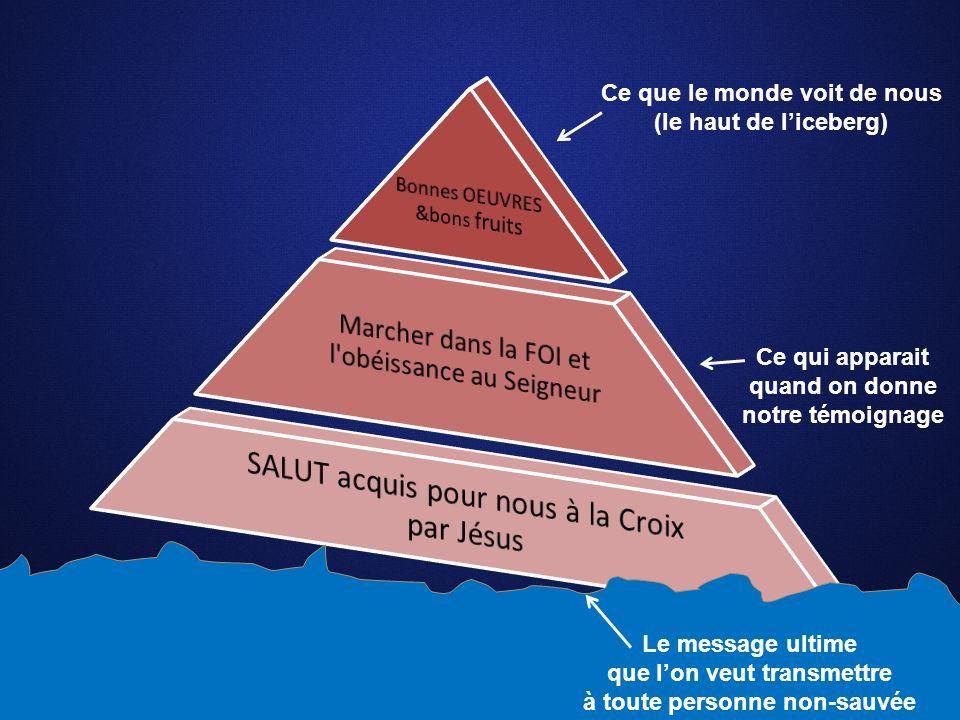 SALUT acquis pour nous à la Croix par Jésus