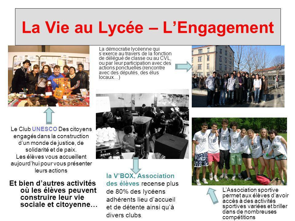 La Vie au Lycée – L'Engagement
