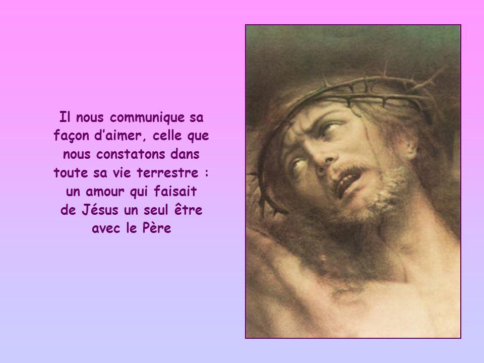 de Jésus un seul être avec le Père