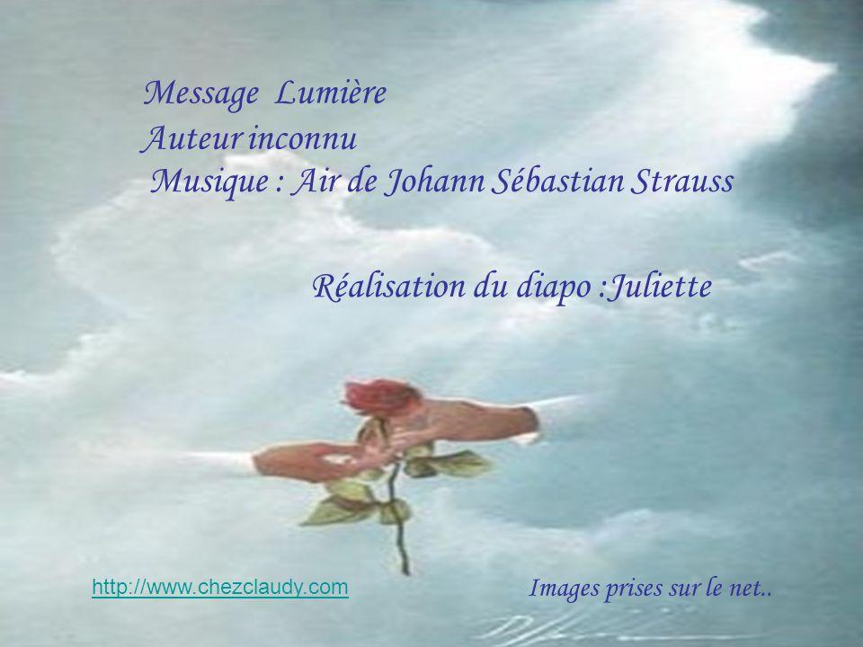Musique : Air de Johann Sébastian Strauss