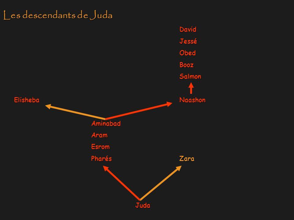 Les descendants de Juda