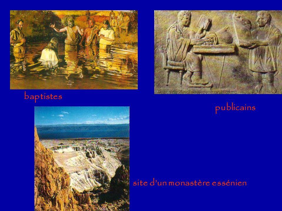 baptistes publicains site d'un monastère essénien