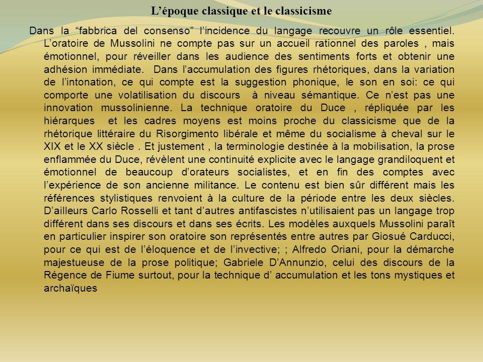 L'époque classique et le classicisme