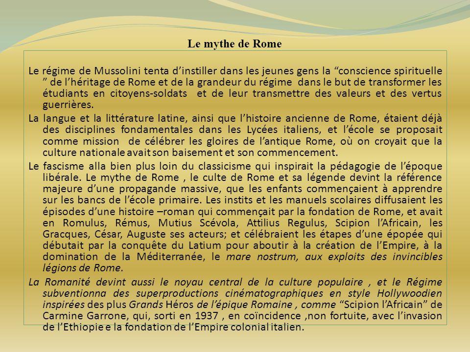 Le mythe de Rome