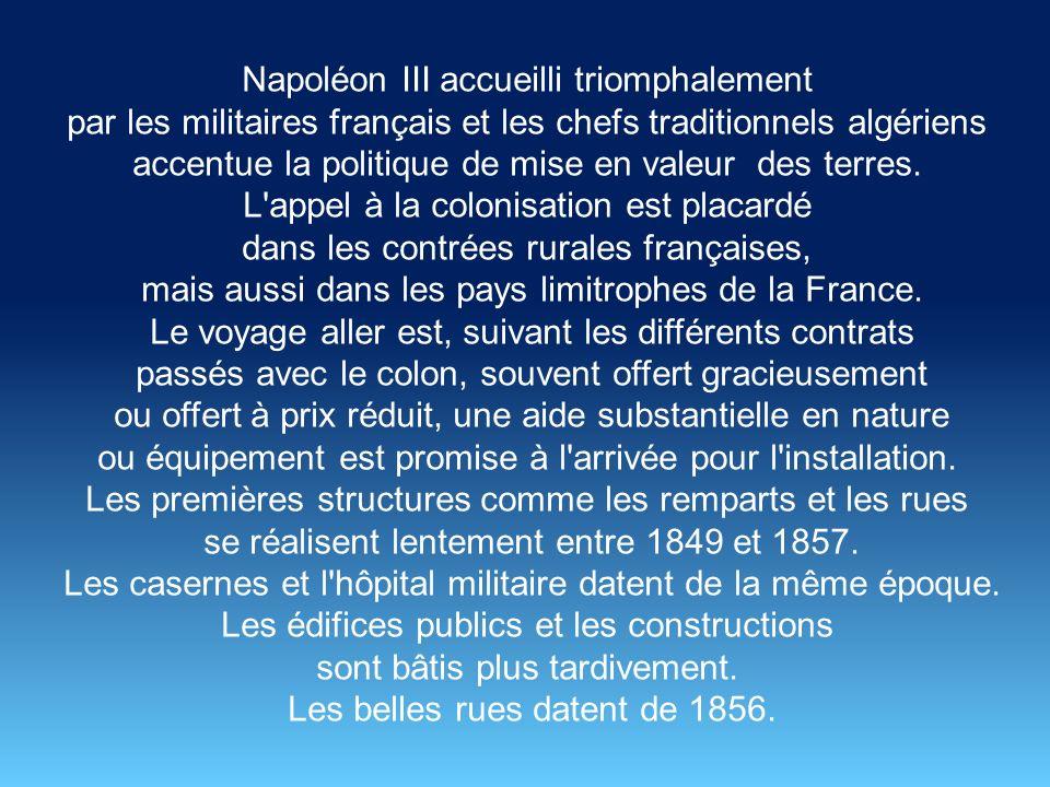 Napoléon III accueilli triomphalement