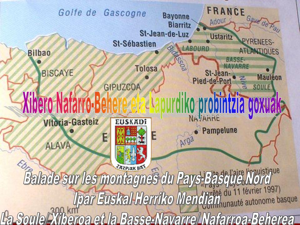 Balade sur les montagnes du Pays-Basque Nord