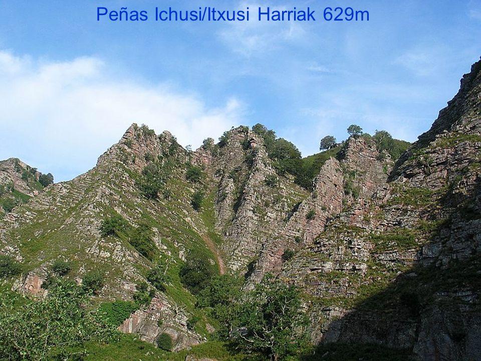 Peñas Ichusi/Itxusi Harriak 629m