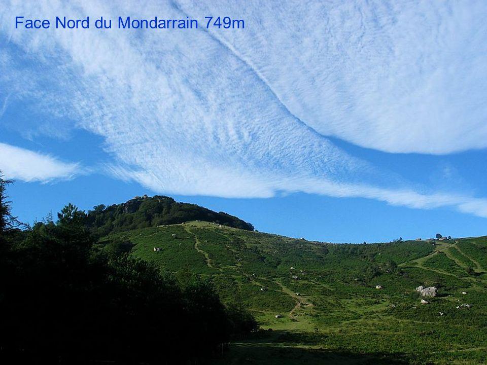 Face Nord du Mondarrain 749m