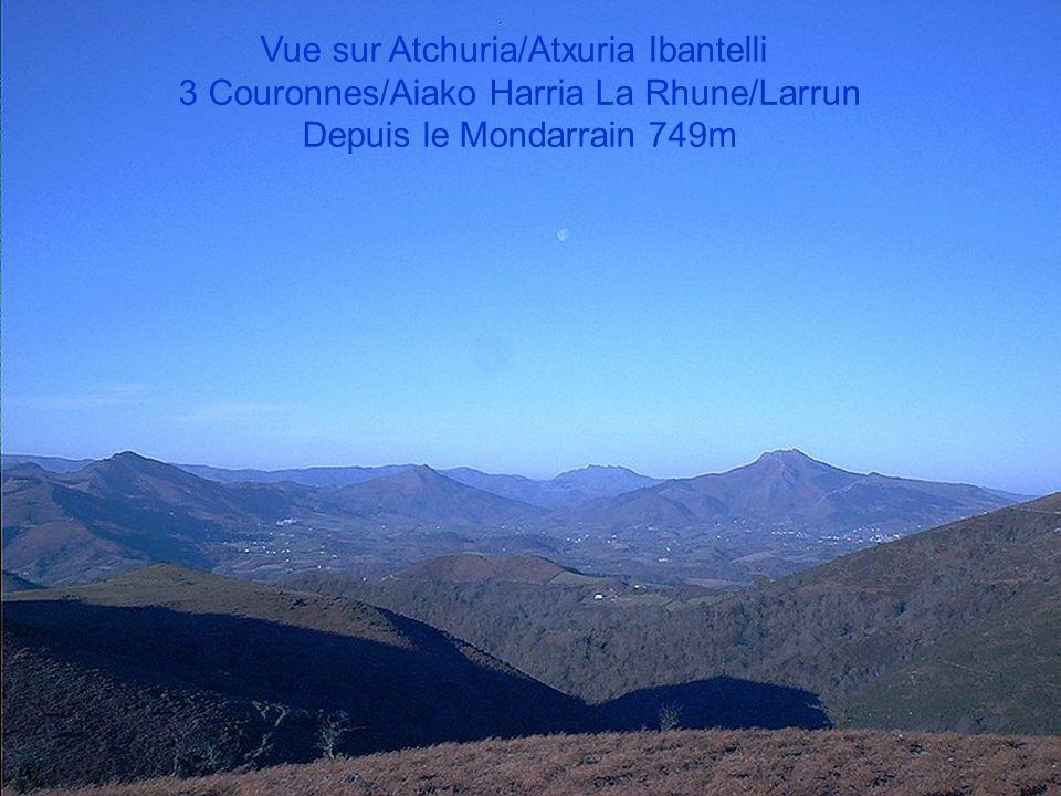 Vue sur Atchuria/Atxuria Ibantelli