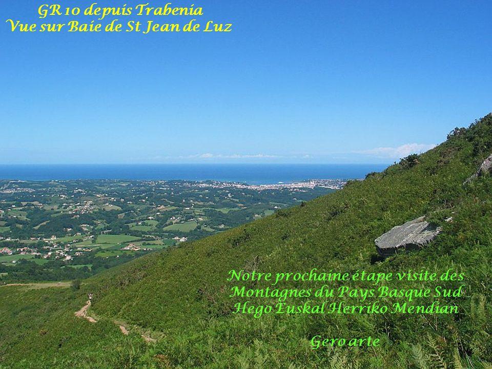 Vue sur Baie de St Jean de Luz