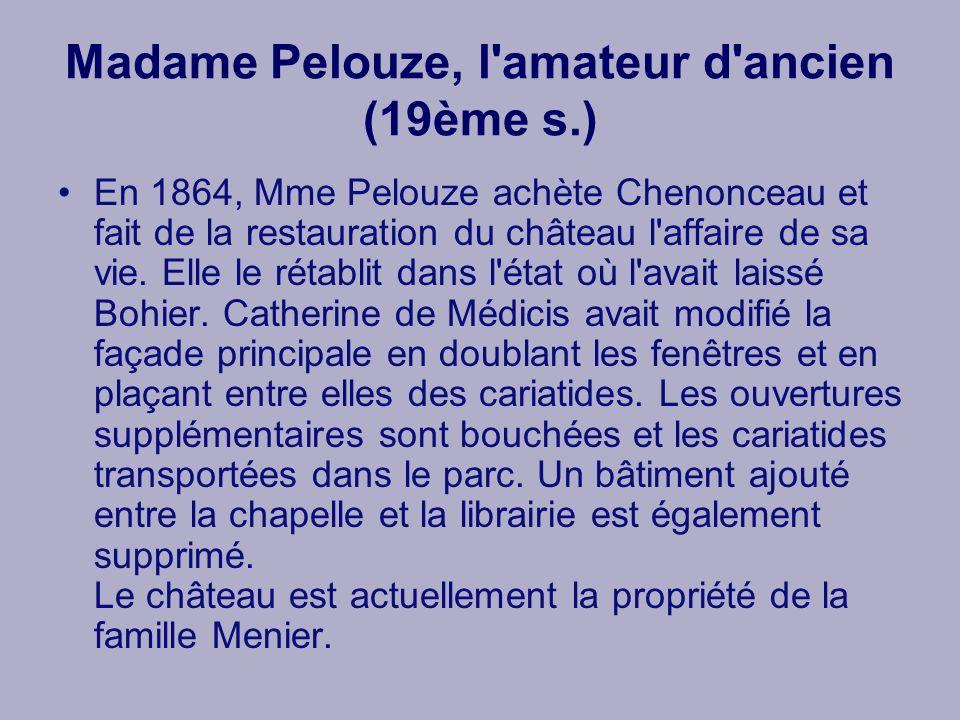 Madame Pelouze, l amateur d ancien (19ème s.)