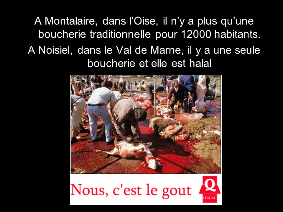 A Montalaire, dans l'Oise, il n'y a plus qu'une boucherie traditionnelle pour 12000 habitants.