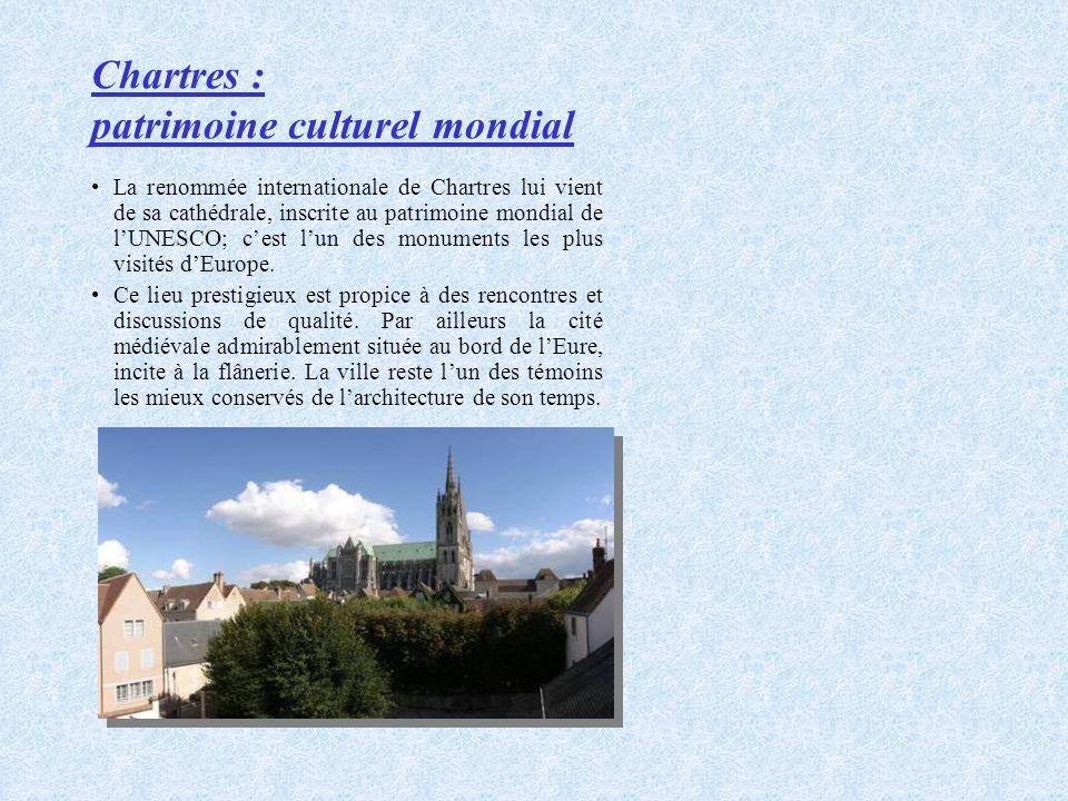 Chartres : patrimoine culturel mondial
