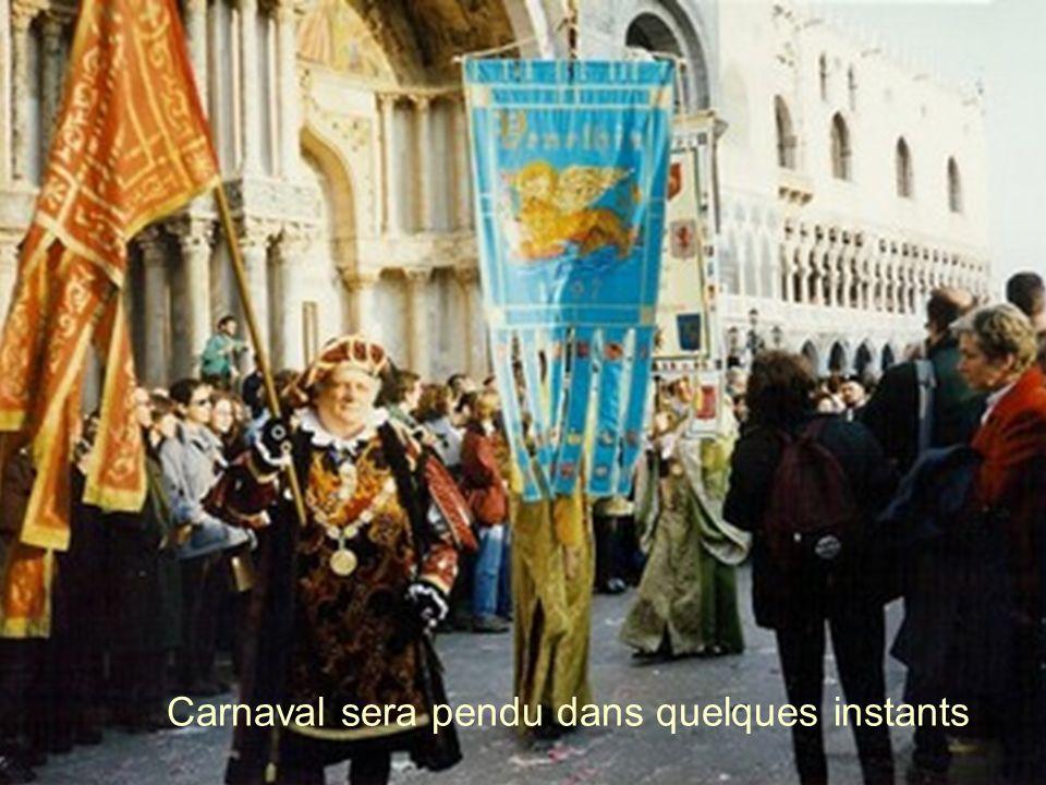 Carnaval sera pendu dans quelques instants