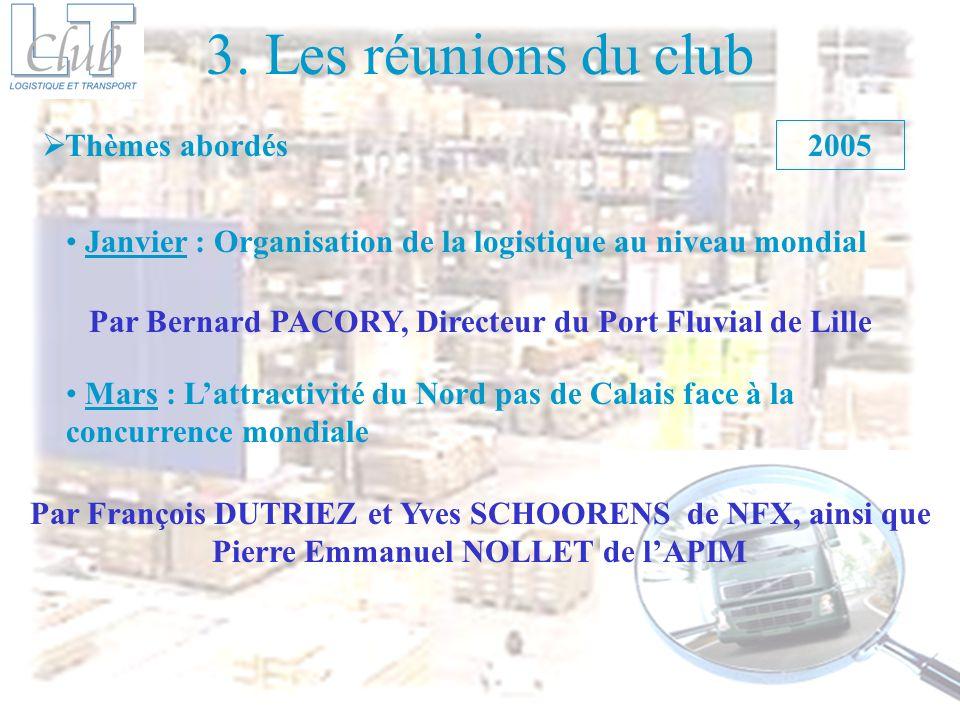 Par Bernard PACORY, Directeur du Port Fluvial de Lille