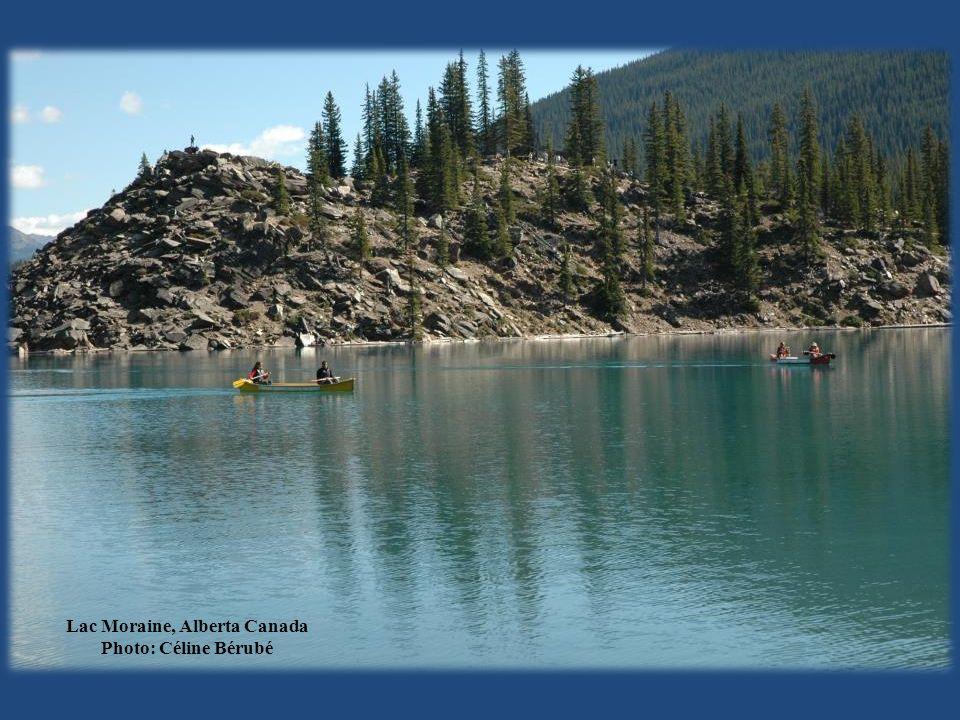 Lac Moraine, Alberta Canada