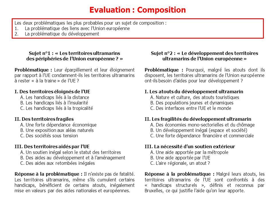 Evaluation : Composition
