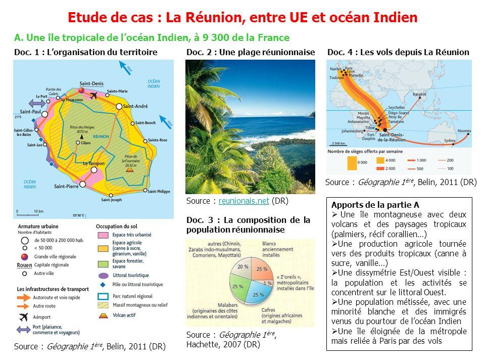 Etude de cas : La Réunion, entre UE et océan Indien