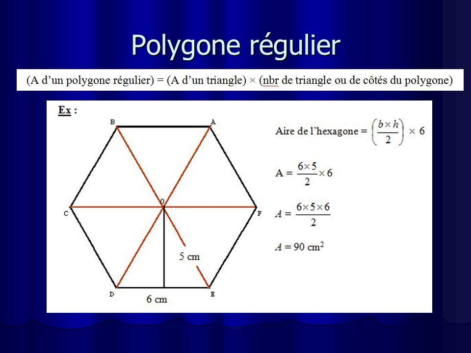 Polygone régulier
