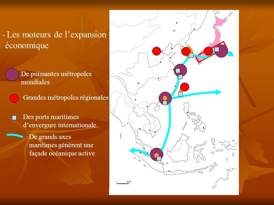 économique Les moteurs de l'expansion De puissantes métropoles