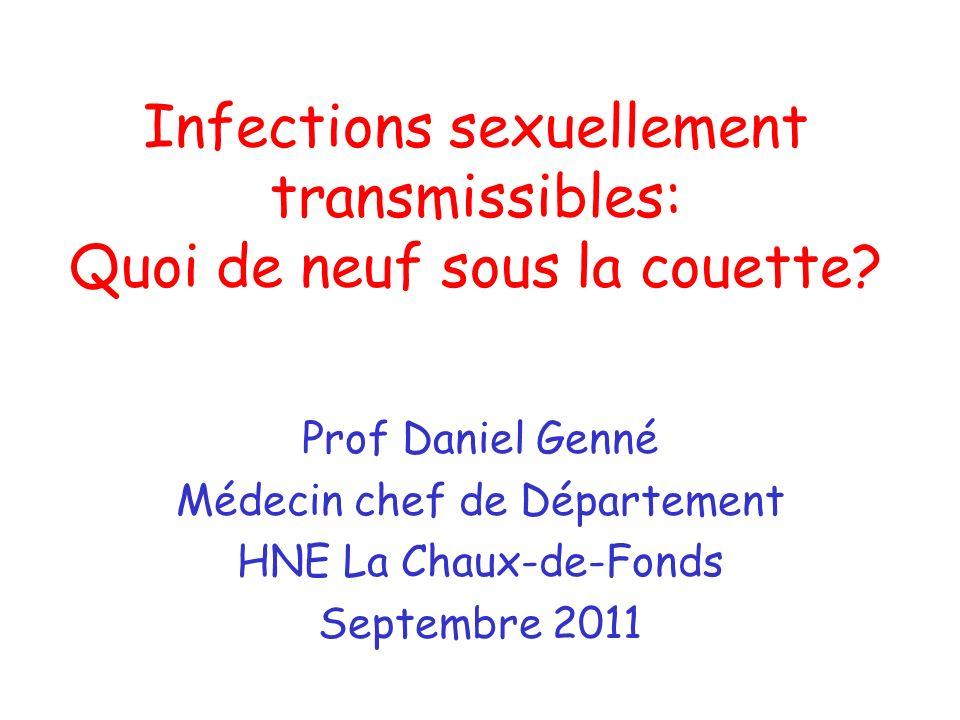 Infections sexuellement transmissibles: Quoi de neuf sous la couette
