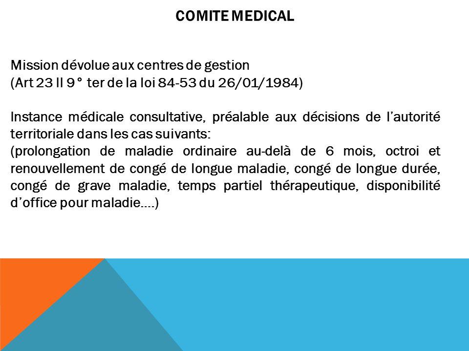 COMITE MEDICAL