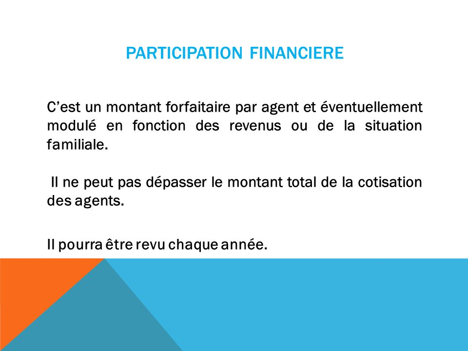 PARTICIPATION FINANCIERE