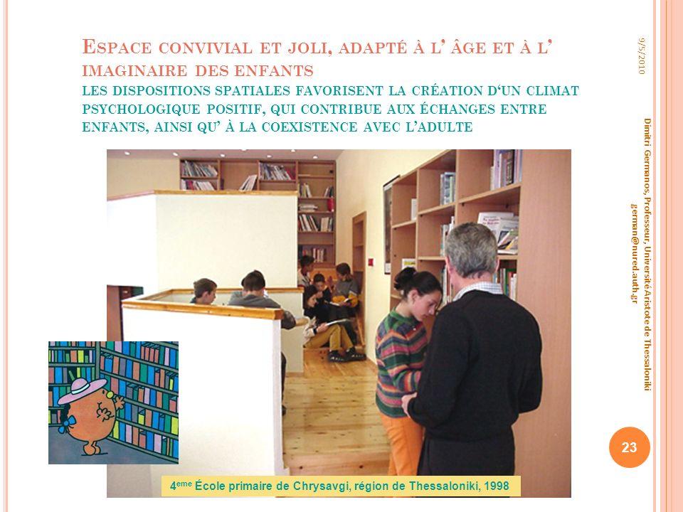 4eme École primaire de Chrysavgi, région de Thessaloniki, 1998