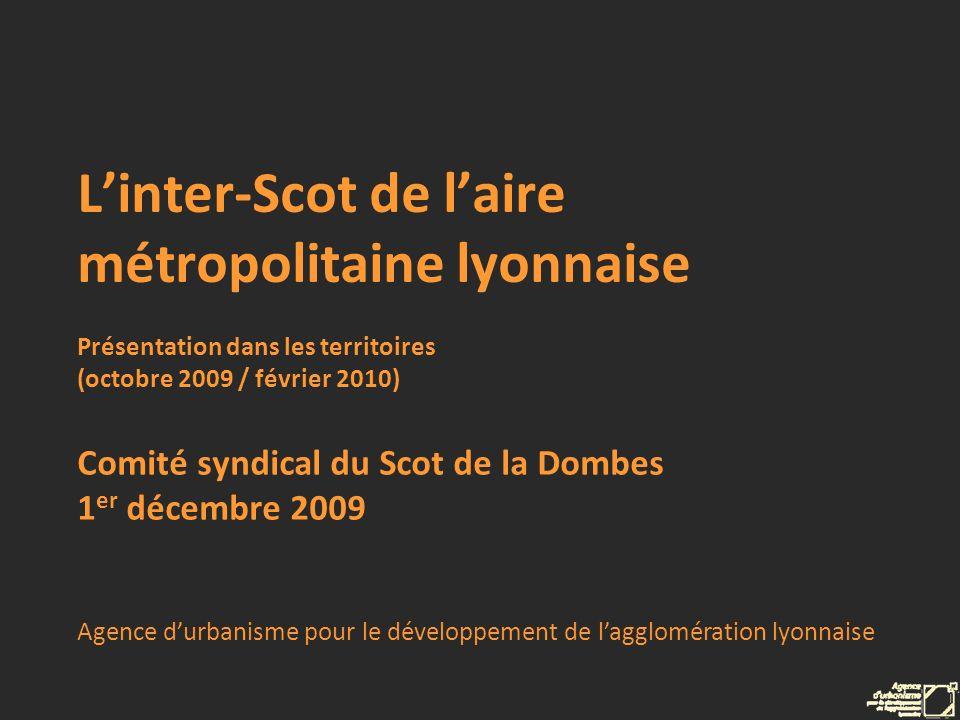 L'inter-Scot de l'aire métropolitaine lyonnaise