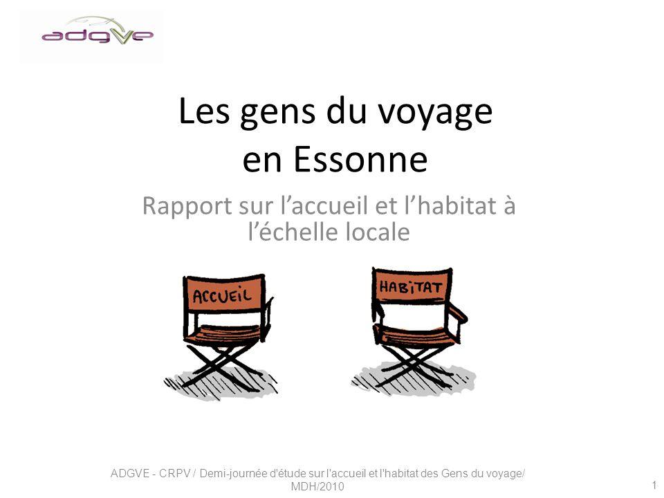 Les gens du voyage en Essonne