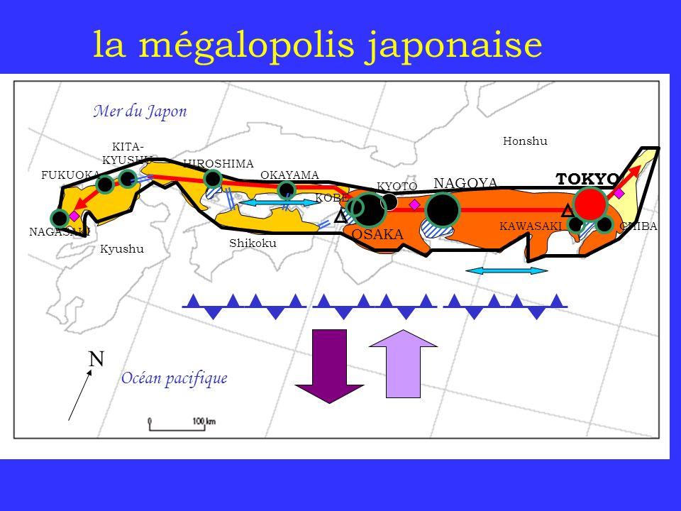 la mégalopolis japonaise